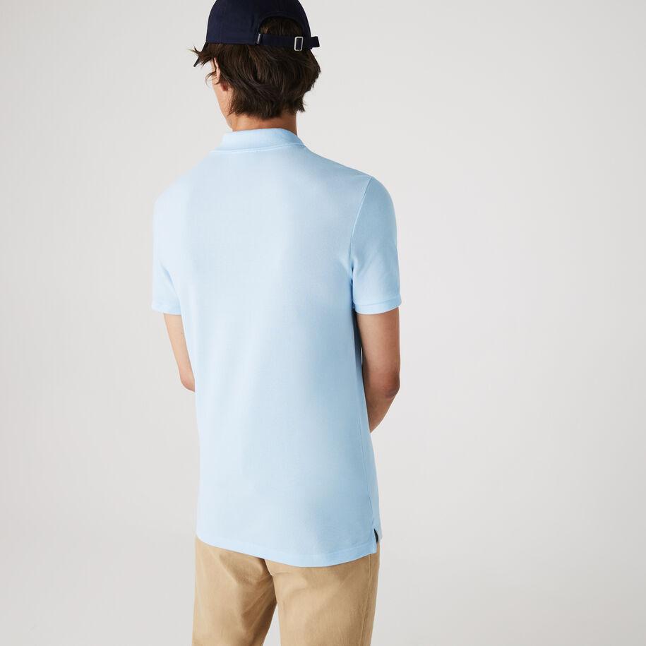Men's Slim fit Lacoste Polo Shirt in petit piqué