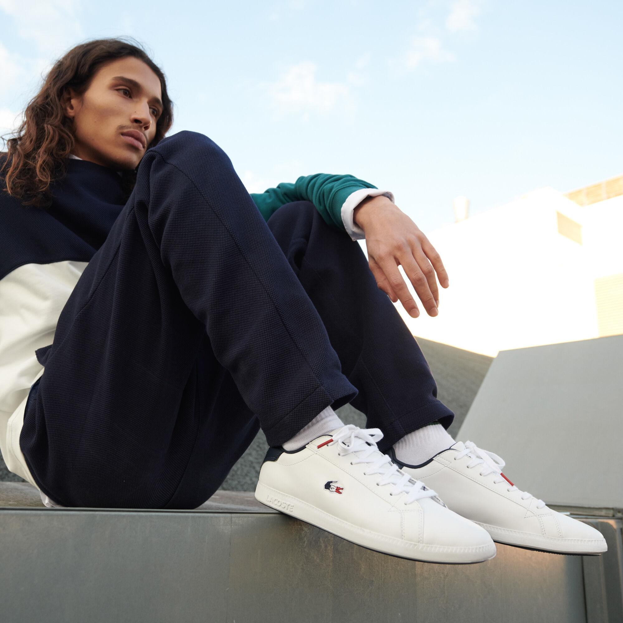 حذاء رياضي من الجلد ومواد صناعية مجموعة Carnaby Evo للرجال