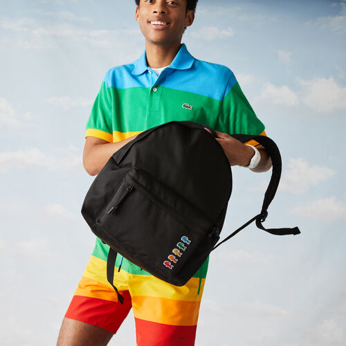 Men's Polaroid Collaboration Multicolor Crocodiles Backpack