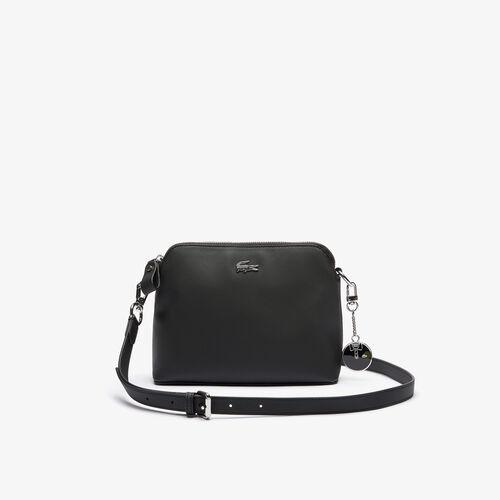 Women's Daily Classics Coated Piqué Canvas Zip Shoulder Bag