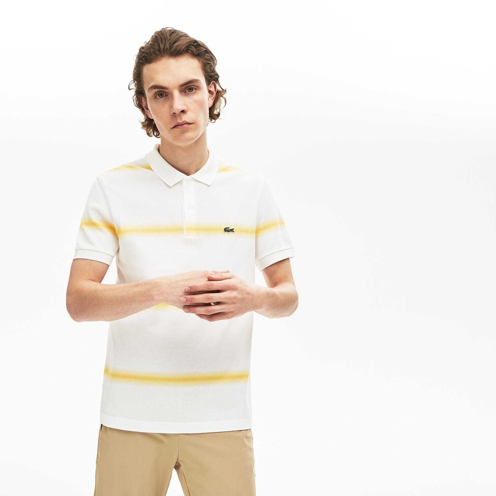 قميص بولو للرجال من قطن البيكيه ذو قصة عادية من مجموعة Made in France