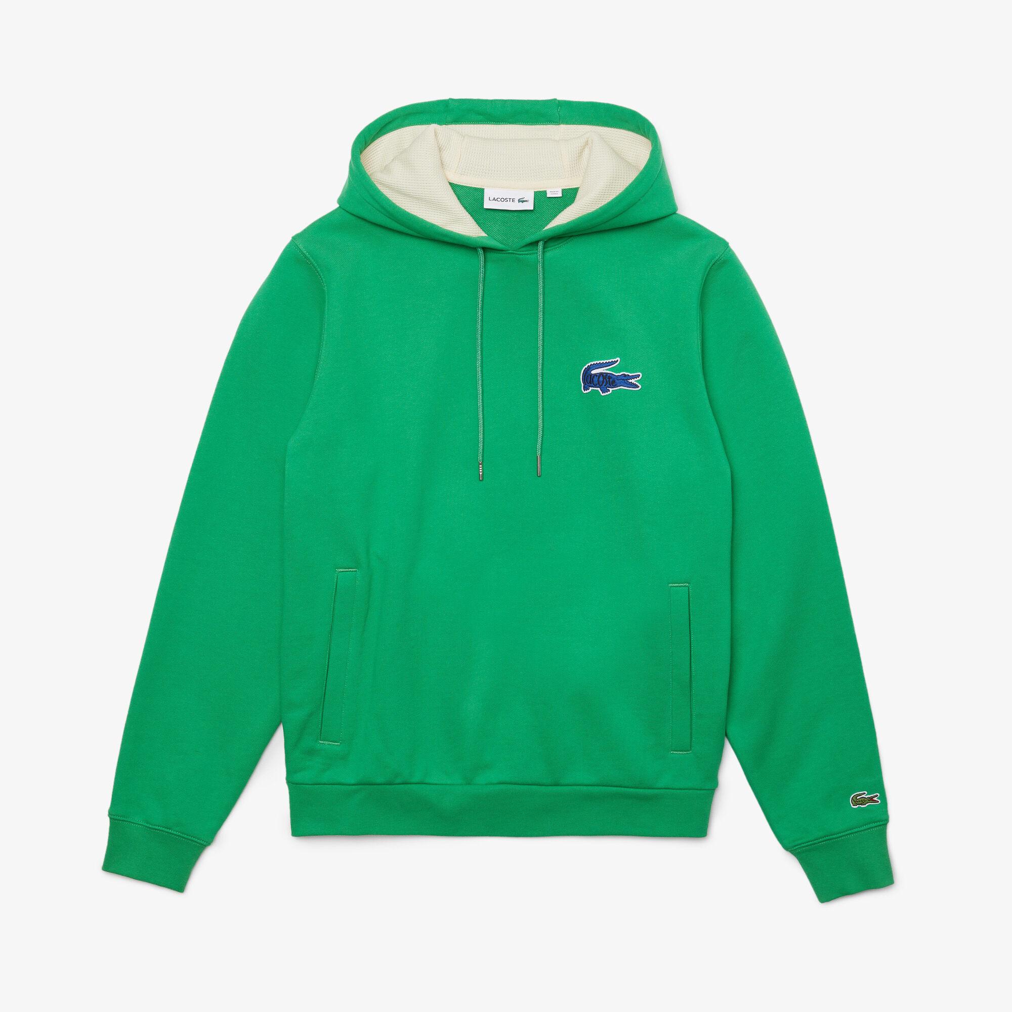 Men's Hooded Badge Sweatshirt