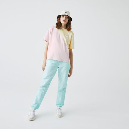 Women's Lacoste Live Loose Bicolour Cotton T-shirt