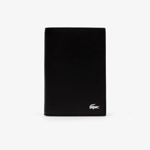 محفظة بطاقات جلد مع سبع فتحات مجموعة Fitzgerald للرجال