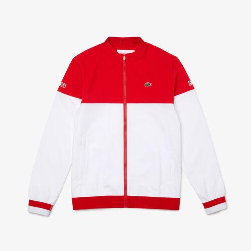 Men's Lacoste Sport X Novak Djokovic Colourblock Zip Jacket
