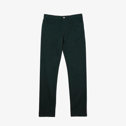 Men's Slim Fit 5-pocket Stretch Cotton Pants