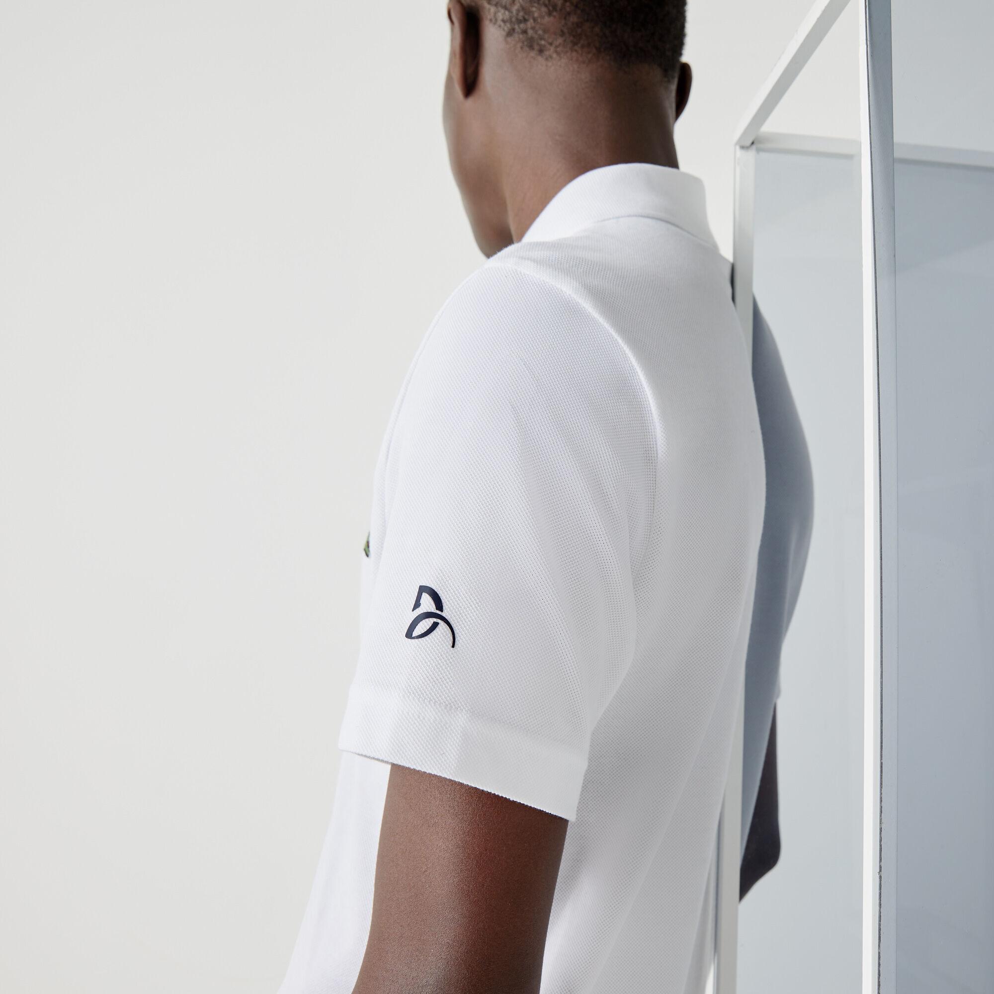 قميص بولو بيكيه القطن مجموعة Lacoste SPORT بالتعاون مع تصميم Youssef SY للرجال