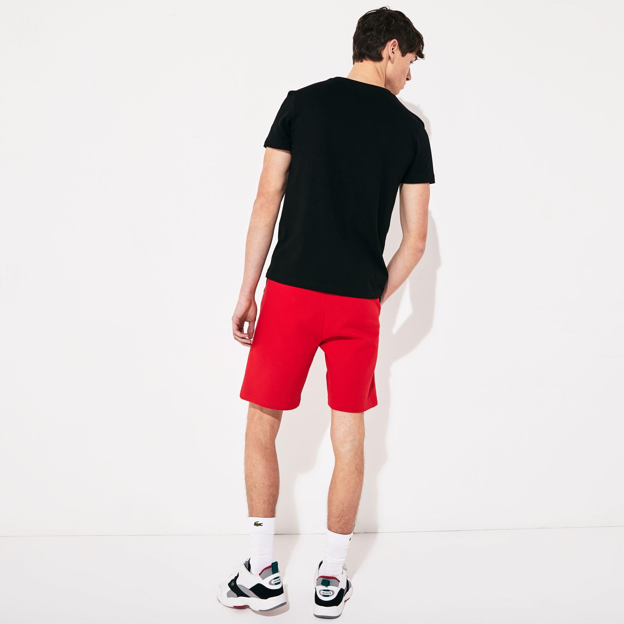 Men's Lacoste SPORT Print Cotton Blend T-shirt