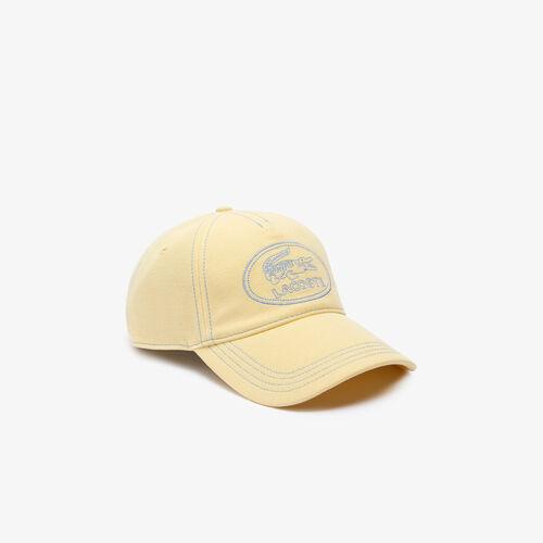 Men's Embroidered Logo Cotton Piqué Cap