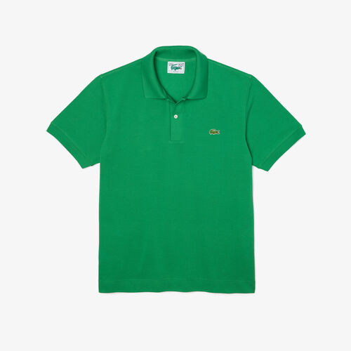 Men's Lacoste Classic Fit L.12.21 Organic Cotton Piqué Polo Shirt