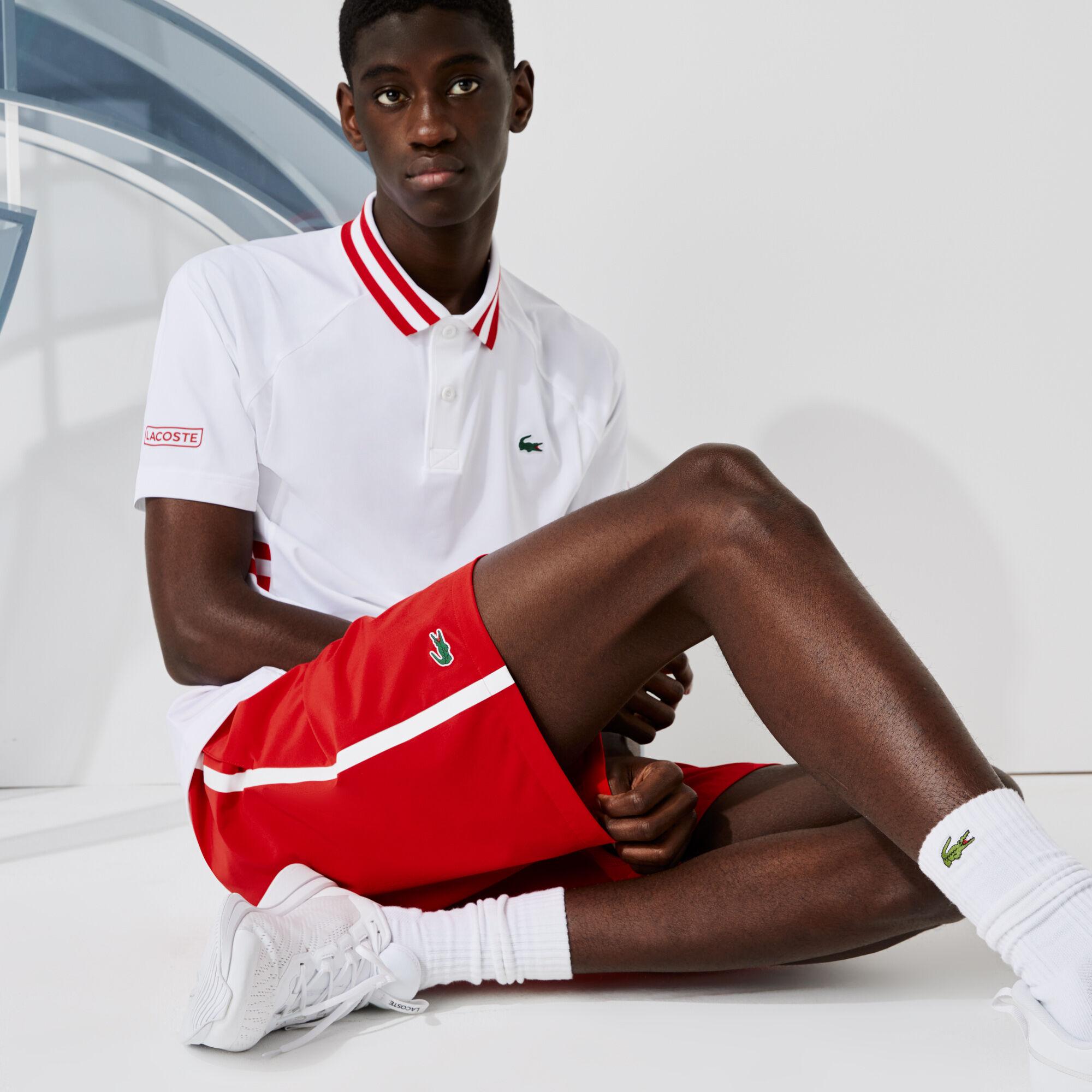 Men's Lacoste SPORT x Novak Djokovic Breathable Stretch Shorts