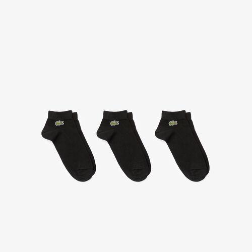 Men's Three-pack Of Lacoste Sport Low-cut Cotton Socks