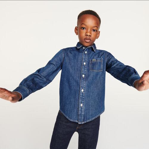قميص من القطن العضوي للأولاد
