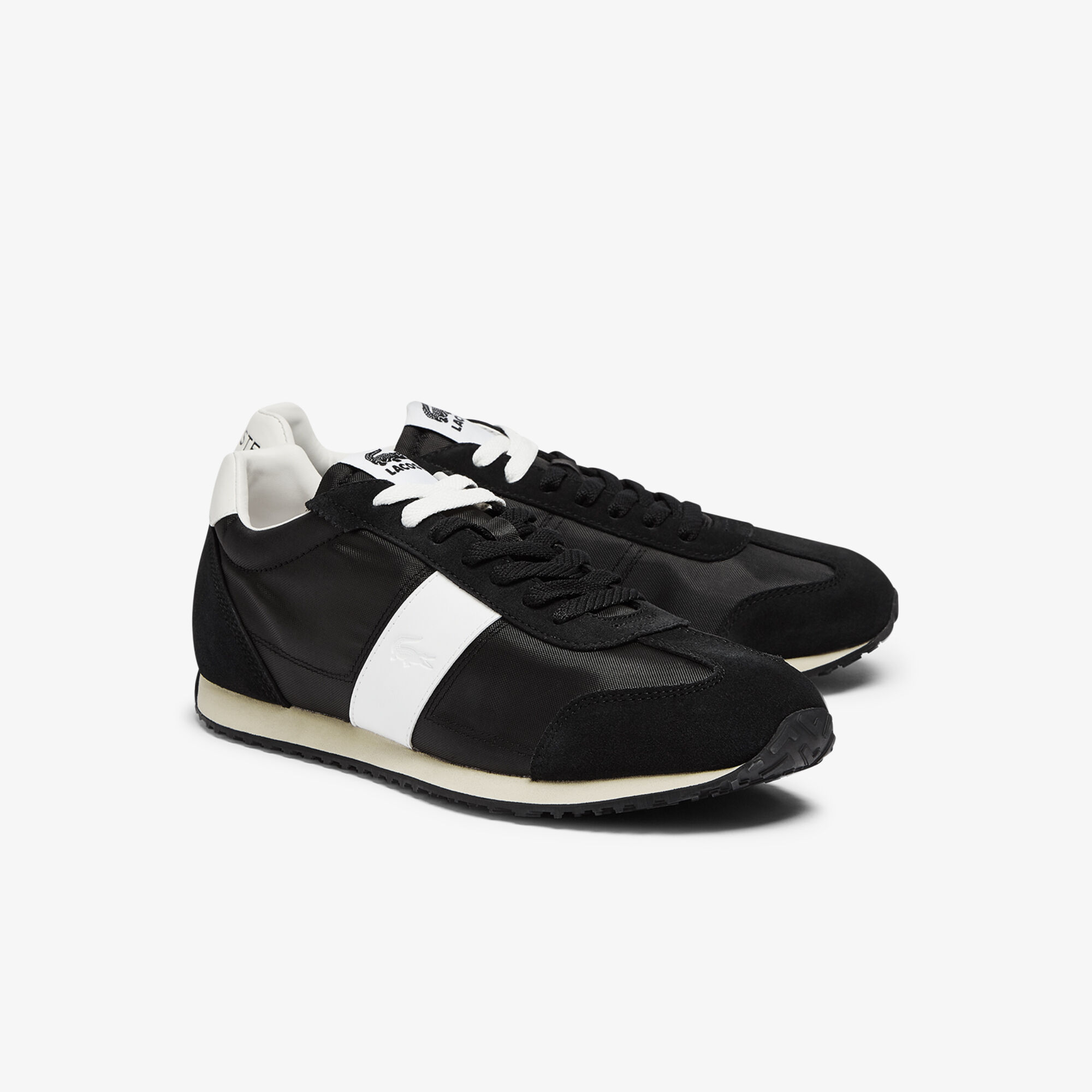 Men's Court Pace Textile and Suede Trainers