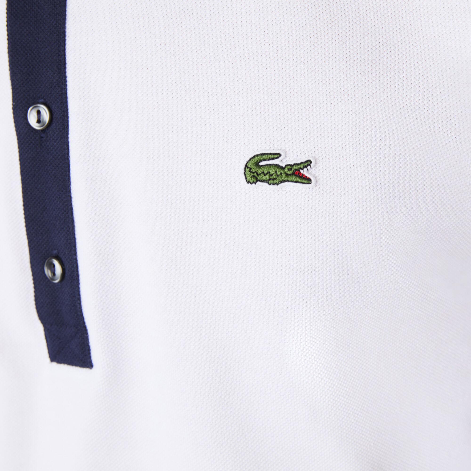 قميص بولو للرجال من بيكيه القطن مجموعة Lacoste SPORT French Open