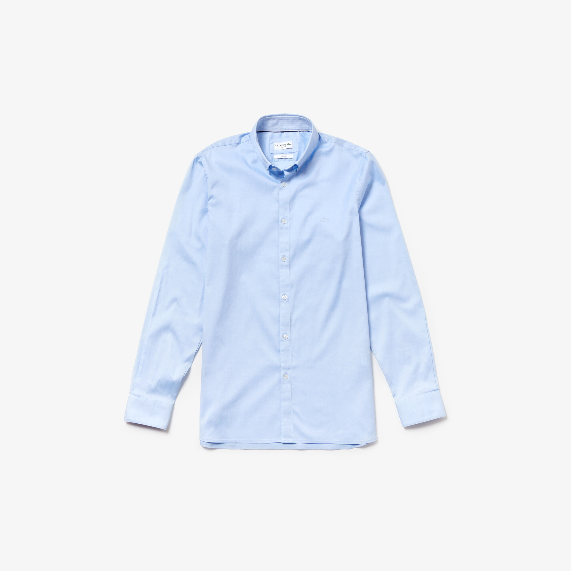 قميص للرجال ذو قصة ضيقة من قطن بينبوينت المرن