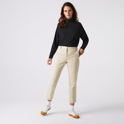 Women's Stretch Cotton Chinos
