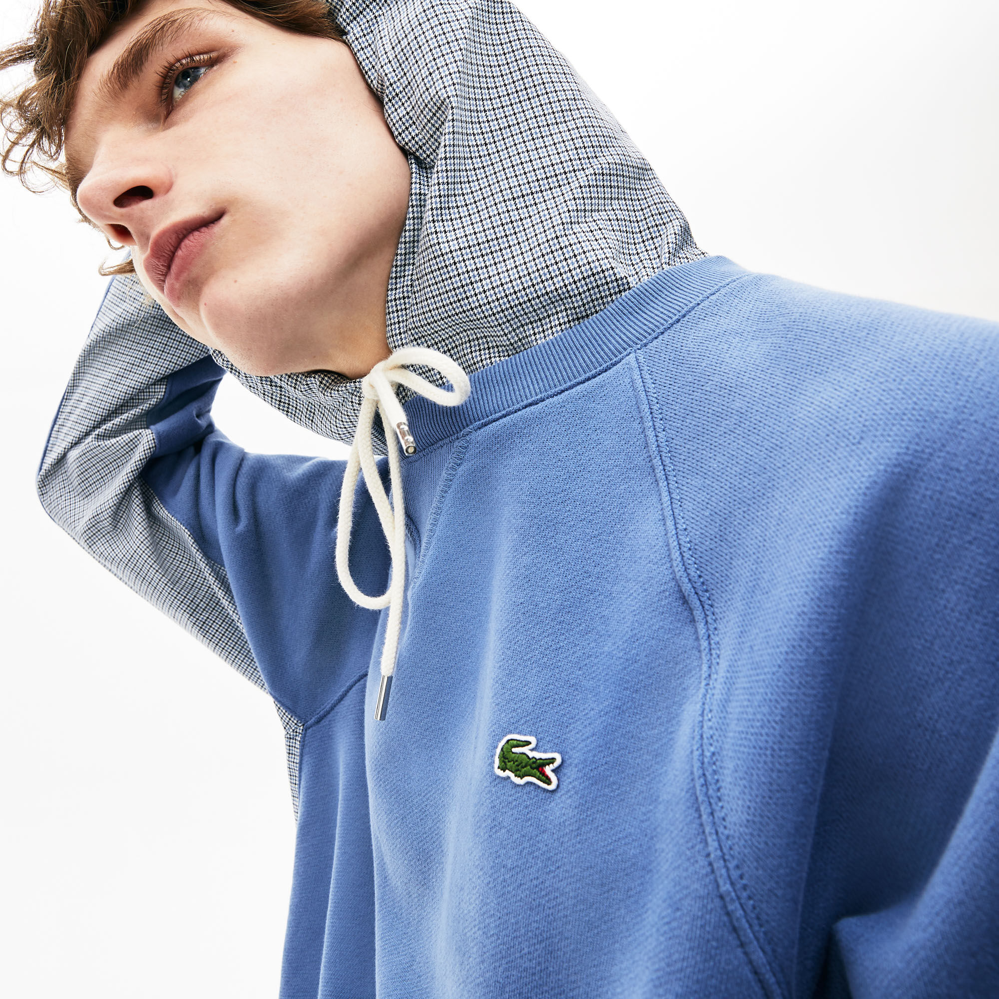 Men's Embroidered Multicolour Signature Fleece Sweatshirt