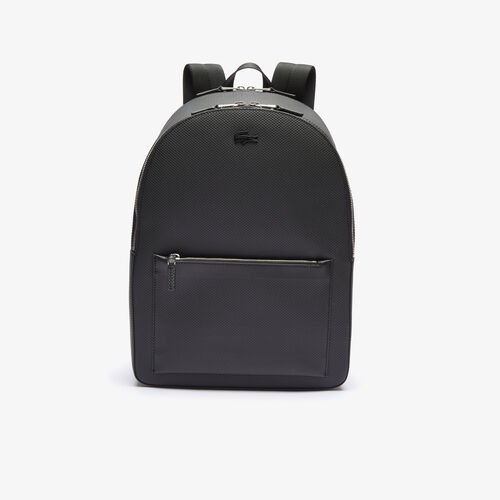 Men's Chantaco Matte Stitched Leather Backpack