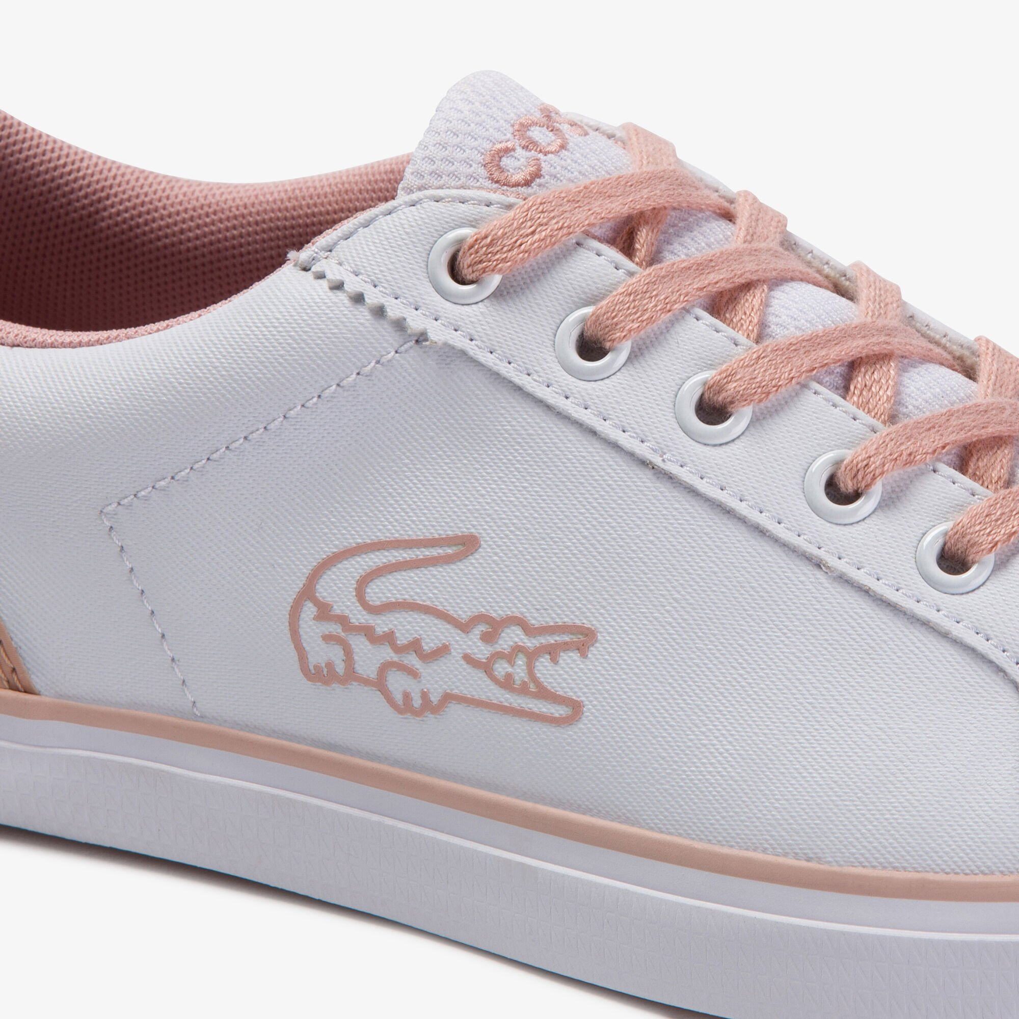 Juniors' Lerond Lace-up Synthetic and Textile Sneakers