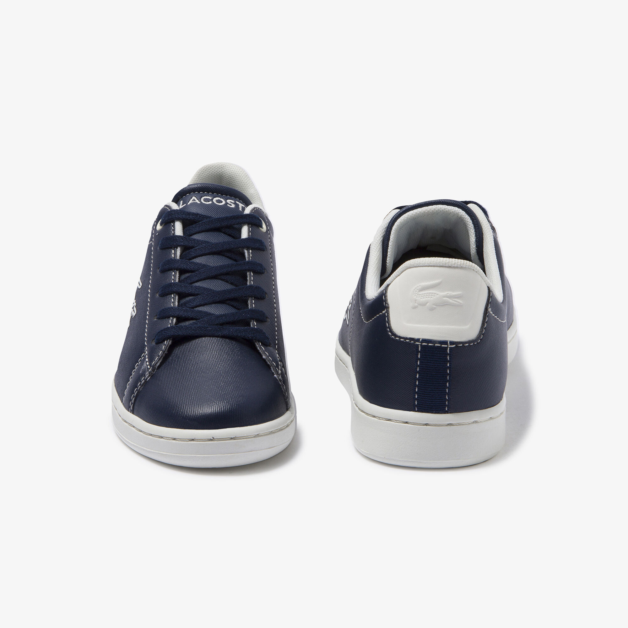Juniors' Carnaby Evo Contrast-colour Lace-up Synthetic Sneakers