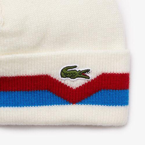 قبعة صغيرة من الصوف مقلّمة بحواف صنعت في فرنسا للرجال