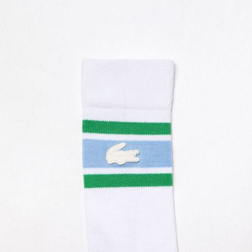 Unisex Lacoste Live Striped Stretch Cotton Socks