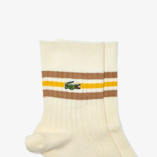 Men's Heritage Sport Striped Ribbed Socks