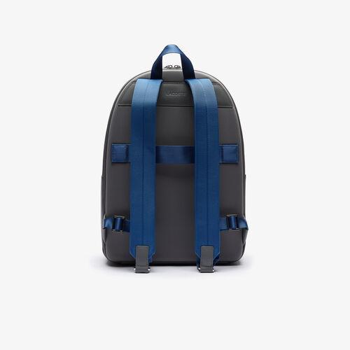 Men's Chantaco Colourblock Matte Stitched Leather Backpack