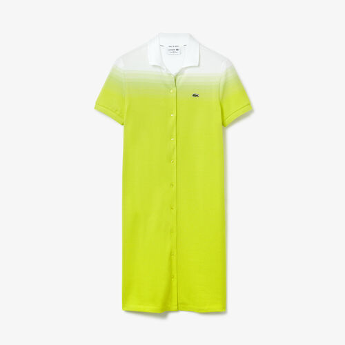 Women's Made In France Cotton Piqué Polo Dress