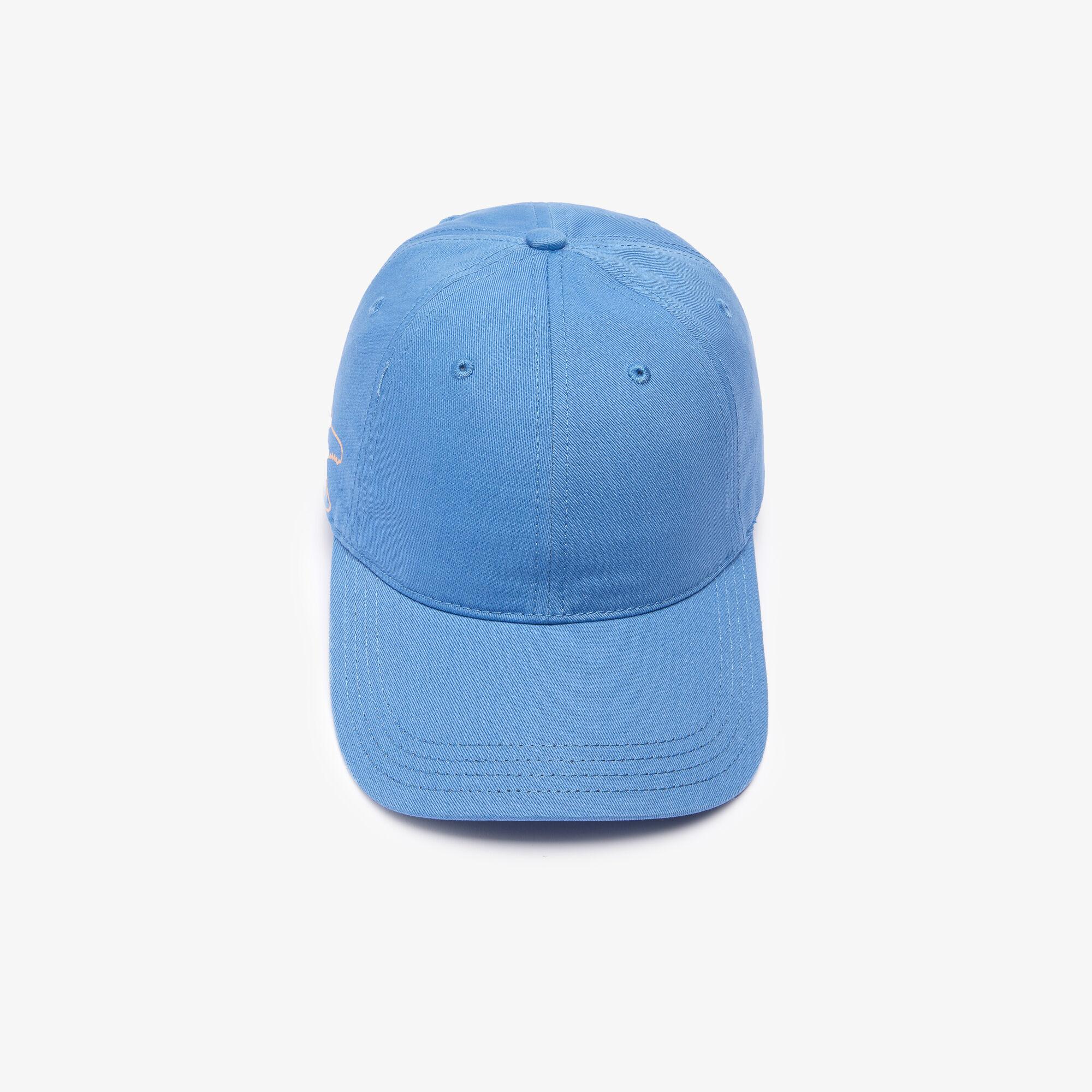Men's Crocodile Print Organic Cotton Cap