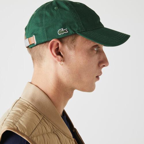 Men's Contrast Strap Cotton Cap