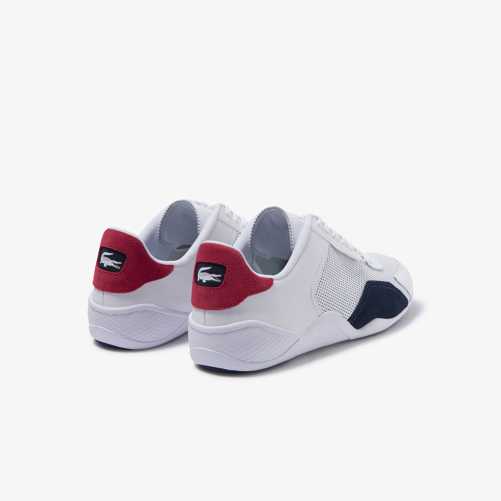 Men's Hapona Leather and Synthetic Trainers