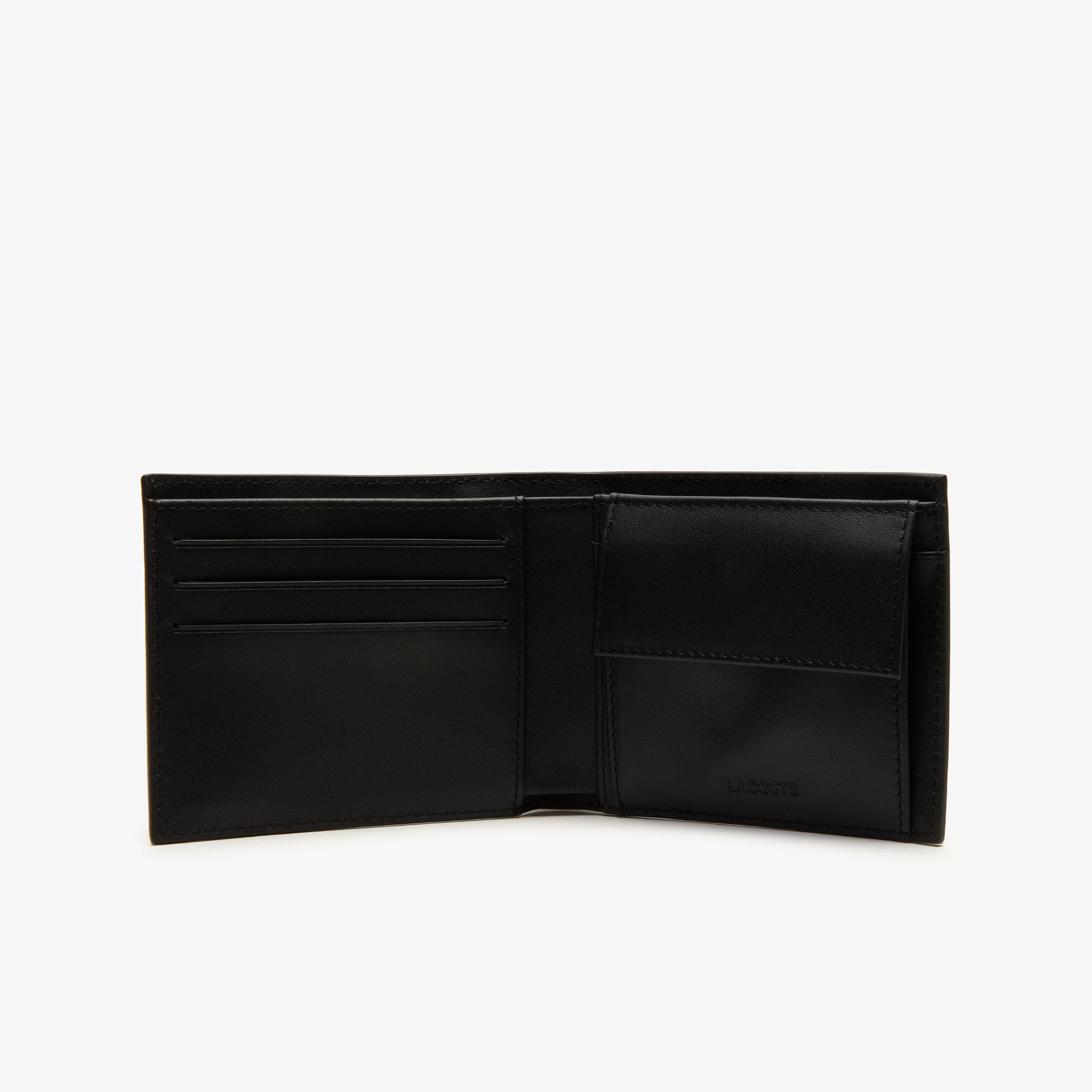 طقم محفظة وحامل بطاقات من الجلد مجموعة Fitzgerald للرجال