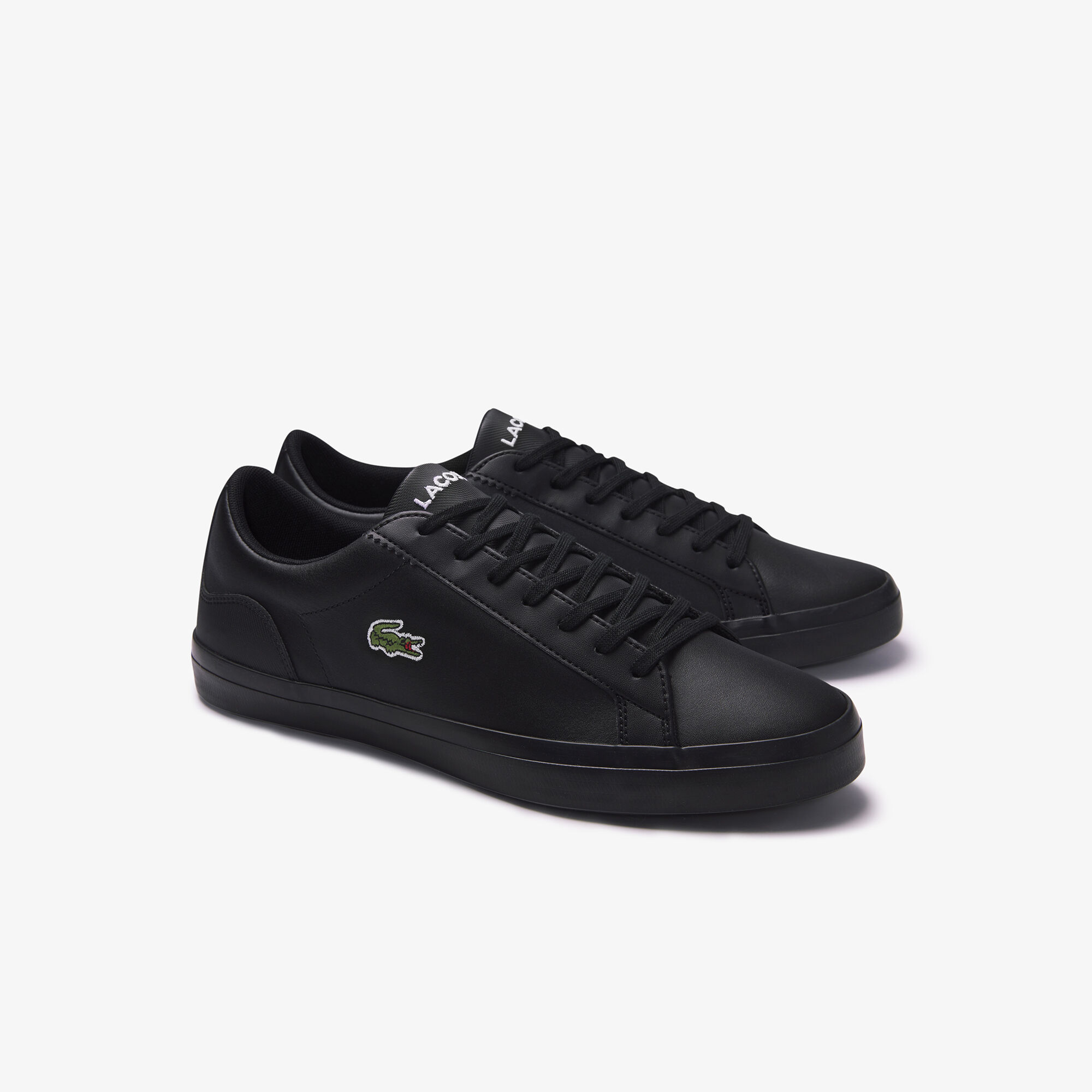 Men's Lerond Textured Leather and Synthetic Trainers