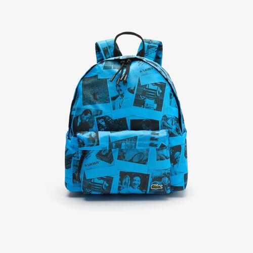 Men's Polaroid Collaboration Print Canvas Backpack