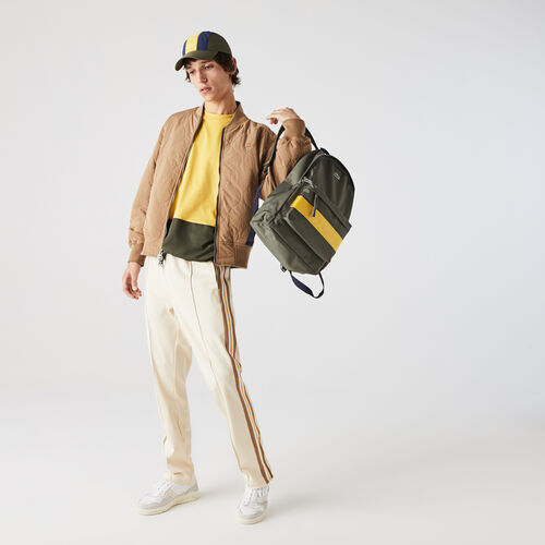 Men's Neocroc Lettered Colorblock Canvas Backpack