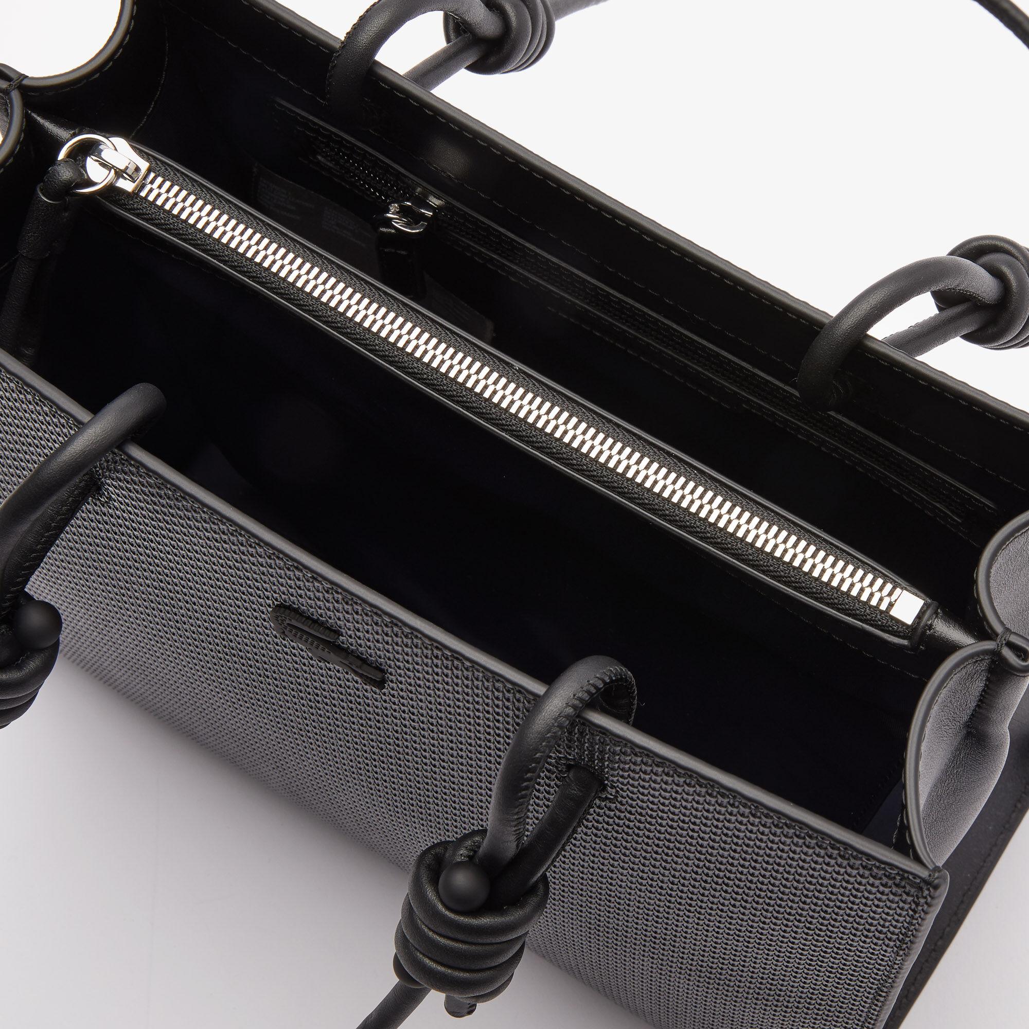 Women's Chantaco Matte Piqué Leather Shoulder Slung Handbag